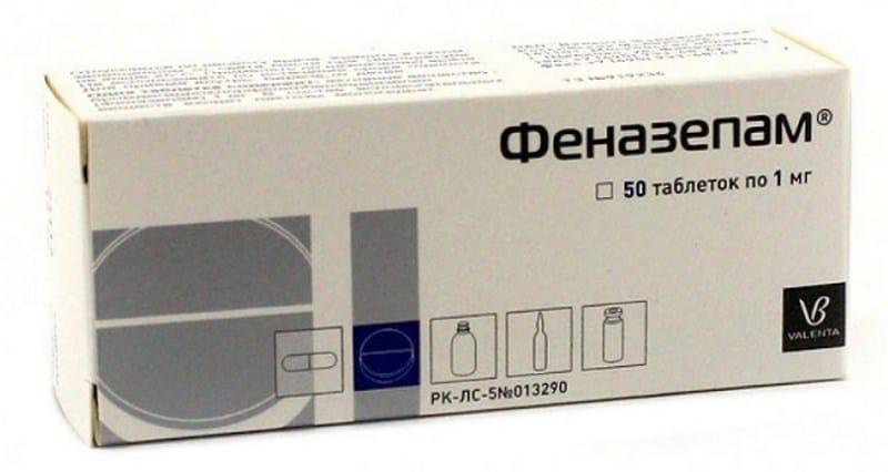 Феназепам: передозировка, побочные действия, отравление и смертельная доза препарата